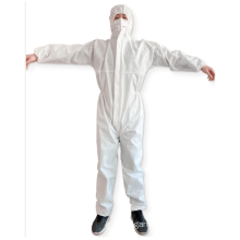 Disposable Full Body Protective Chemical Isolation Suit