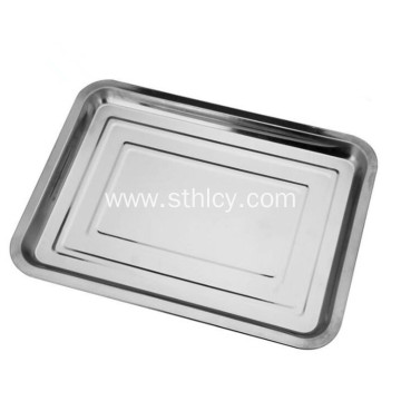 410 Stainless Steel Hotel Products Food Tray