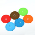 colorful universal plastic custom coasters