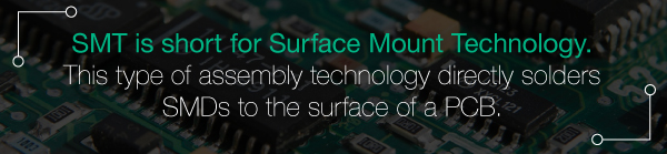 SMT: surface mount technology | JHY PCB manufacturer
