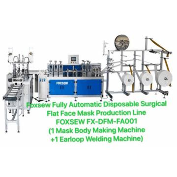 Automatic Disposable Surgical Mask Production Line (1+1)