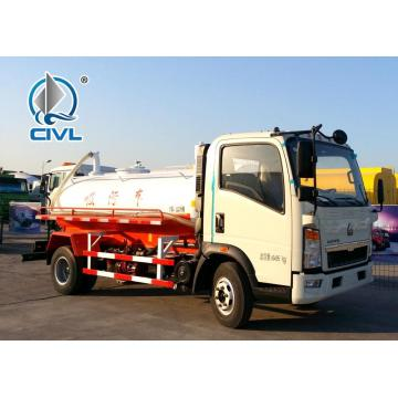 4X2 Sewage Suction Truck 5-6m3