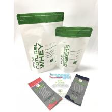 250g Plastic Protein Powder Packaging Bag With Zipper