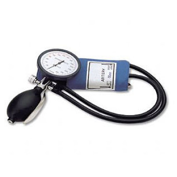 DELUXE palm type blood pressure monitor