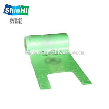 Pet Waste Bags with Easy-Tie Single Roll Biodegradable
