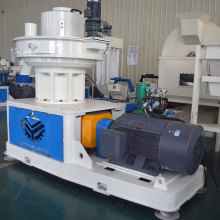 Biomass materials pellet machine