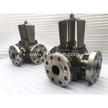 3 Way Floating Ball Valve