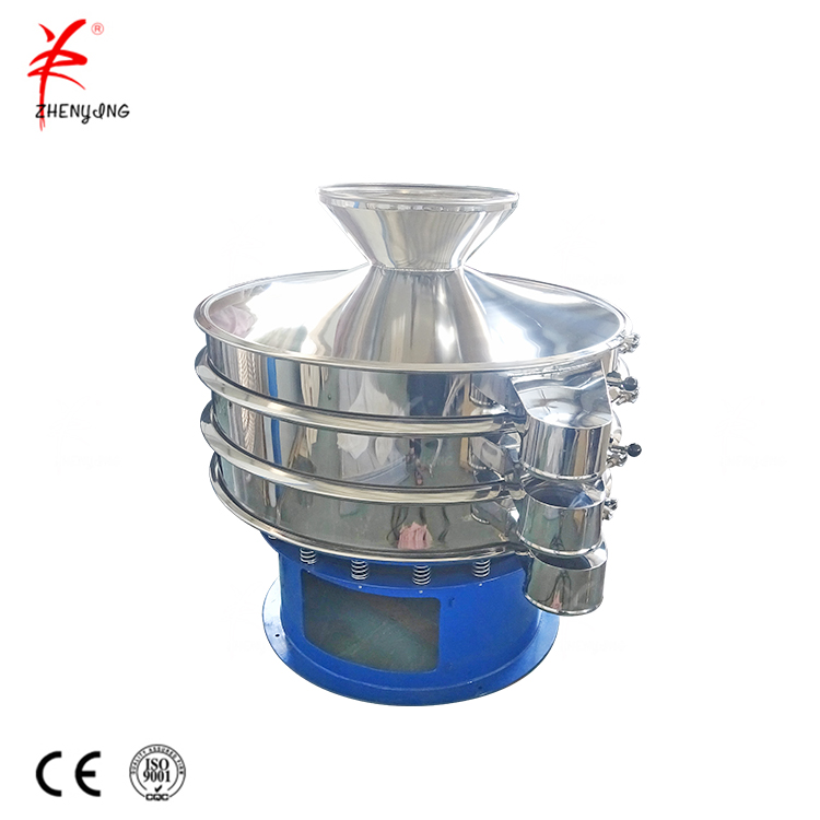 Rotary Vibrating Screen Cookie Crumb Sieving Machine