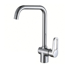 China factory hot sell deck mounted chrome kitchen faucet