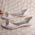 Open Toe Flat Shoes for Wedding