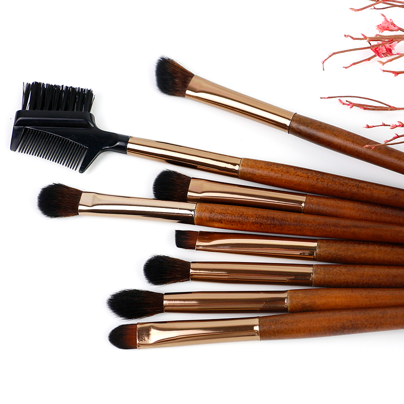 Professional eye brush set