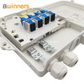Ftth Fiber Optic Distribution Box For Upto 8 Sc Simplex Adapters