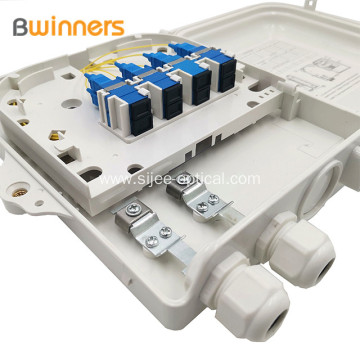Ftth Box Termination Box  8 Core Fiber Optical Distribution Box