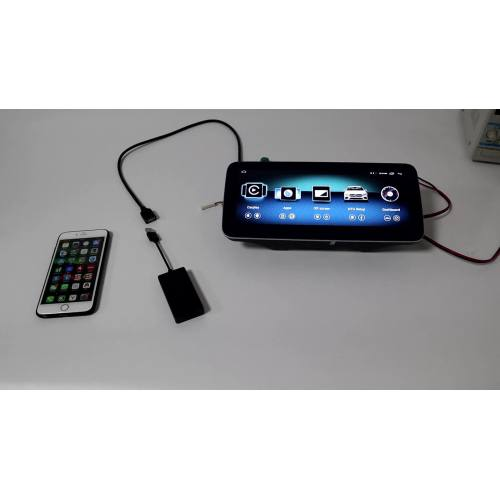 Wireless carplay Androidauto Dongle for Apple and Android cellphone