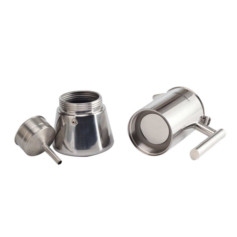 Stainless Steel Coffee Moka Maker