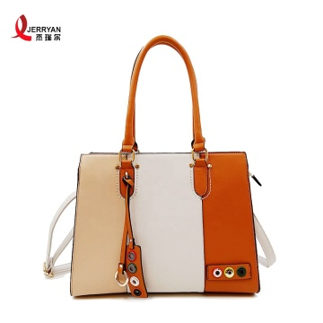 Stylish Big Leather Handbag Women Tote Bags