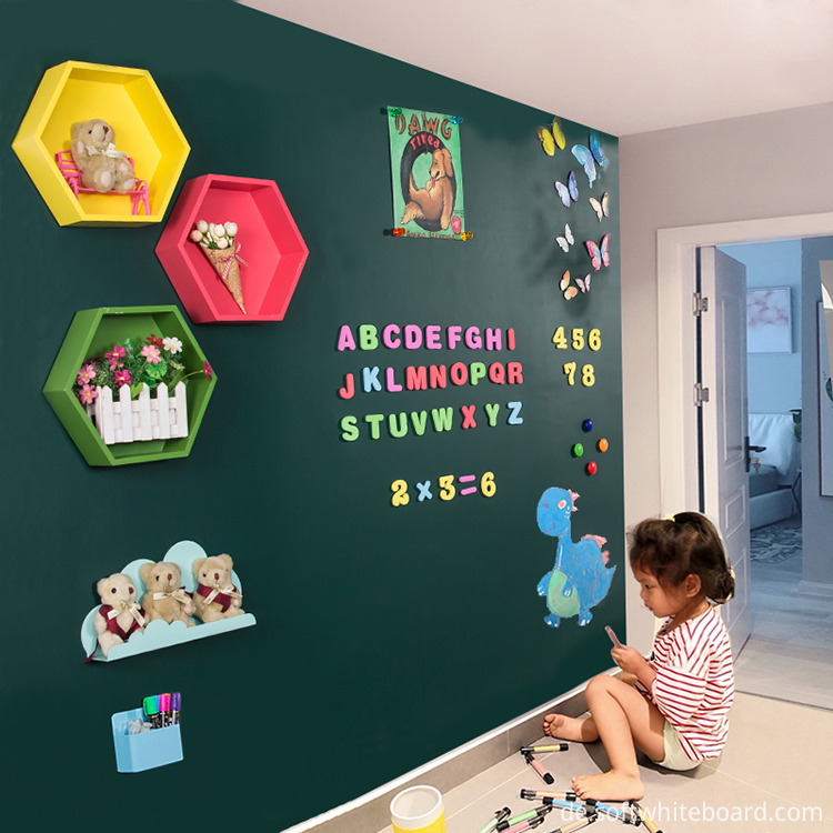House Children Wall Mounting Chalkboard