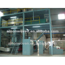 Nonwoven fabric sms production line