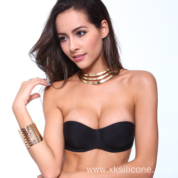 Silicone self sticky gel push up invisible bra