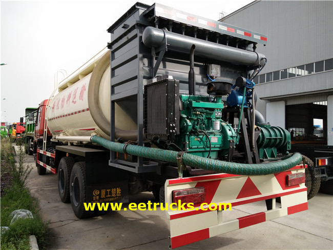 Dongfeng Bulk Powder Trucks