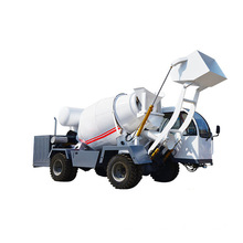 Hydraulic pump concrete mixer truck for sale