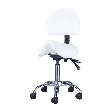Spa Massage Stool Chair with Back Rest