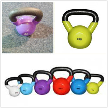 Ganas Gym Center Workout Machine Colored Kettle Bell