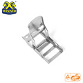 High Quality 800KG 2 Inch White Zinc Steel Overcenter Buckle