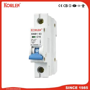 Miniature circuit breaker for household distribution box 6KA