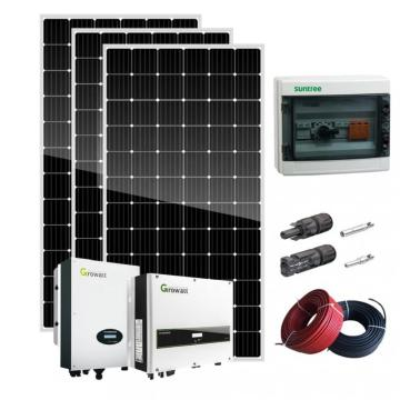 5KW On Grid Solar Panel System