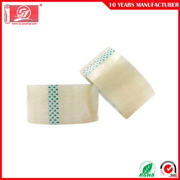 Transparent Clear Low Noise BOPP Adhesive Packing Tape