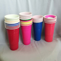 Disposable Plastic Red  PP Cups