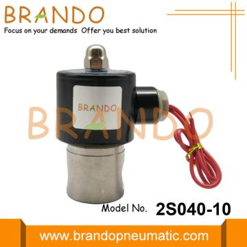 2S040-10 3/8'' Stainless Steel Solenoid Valves For Water