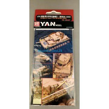 Yan Model PE-35007 1/35 Pz.Kpfw.IV Ausf.J Detail Up Set for Rye Field Model 5033