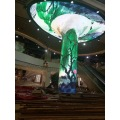 Currved video wall flexible  LED display module