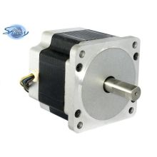 85mm high torque 3-phase hybrid stepper motors anti-rust shaft with 1.2 step angel