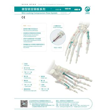 Finger Straight-shaped Plates Orthopedic Mini Implant