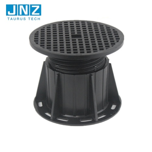 adjustable pedestal for raised marble floor tiles