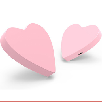 Custom Heart Shaped Wireless Bluetooth Charger