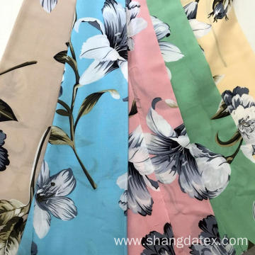 Chinese Factory Soft Rayon Screen Print For Dress