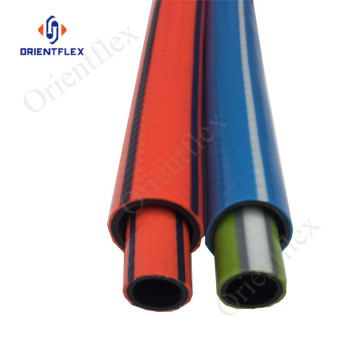 pvc braided coil garden water hose