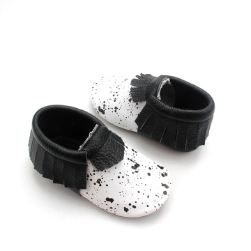 Wholesale Fringe Moccasins Baby  Leather Shoes 2018