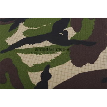 CVC Interweave Camouflage Fabric with Membrane