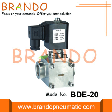 High Pressure Stainless Steel Solenoid Valve 2000 Psi