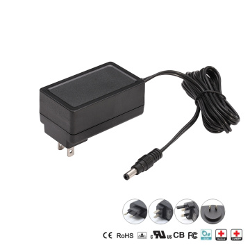 Enchufe de EE. UU. 12V 24V Medical Power Supply EN60601
