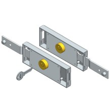 Roller shutter lock set Shifted bolt