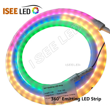 360 Degree Emitting RGB Color LED Strip