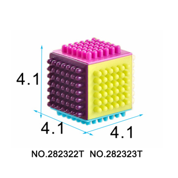 Plastic Solid Blocks Intelligence Toy 60 PCS