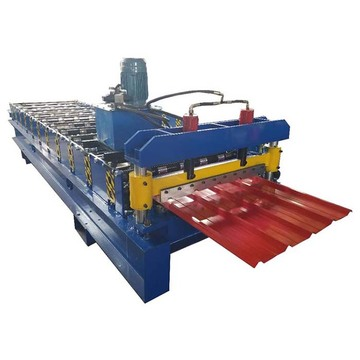 Trapezoidal Profile IBR Roof Tile Roll Forming Machine