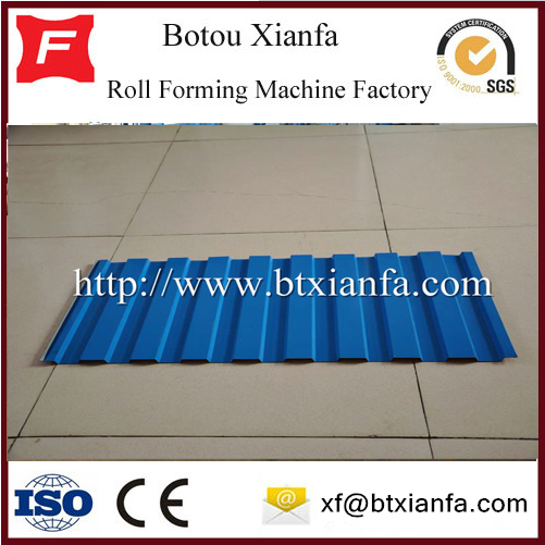 IBR R Panel Wall Roll Forming Steel Making Machine